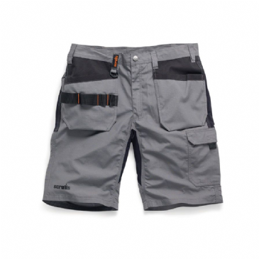 Scruffs Trade Flex Stretch Holster Work Shorts (Graphite)